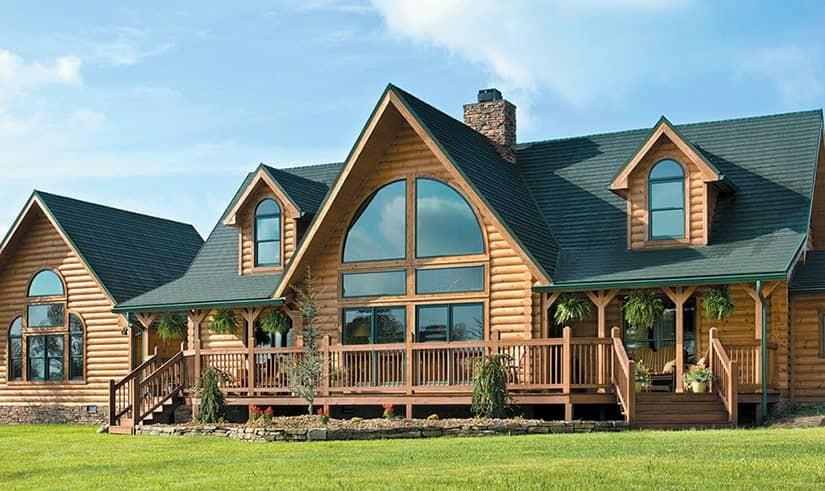 Уход за деревянным домом