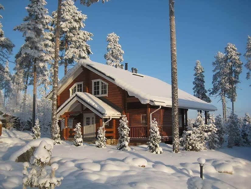 Обследование деревянных домов тепловизором